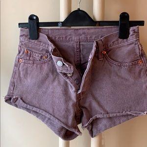 Levis Cutoff Shorts